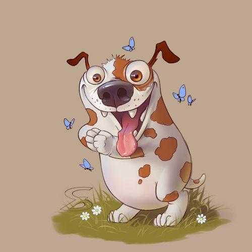 #dog #art #characterdesigne #cartoon #drawing #digitalart #painting #illustration #conceptart #иллюстрация #рисунок