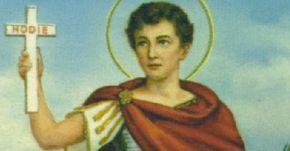 SAN EXPEDITO MÁRTIR PALABRA DE DIOS DIARIA San Expedito fue comandante de una legión romana y como tal defendió al Impe...