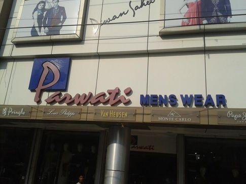Parwati mens wear