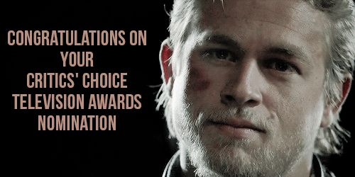 BEST ACTOR IN A DRAMA SERIES [x] Aden Young, Rectify Bob Odenkirk, Better Call Saul Charlie Hunnam, Sons of Anarchy Freddie Highmore, Bates Motel Matthew Rhys, The Americans Timothy Olyphant, Justified We wish you the best of luck! - Asia, Laetitia...