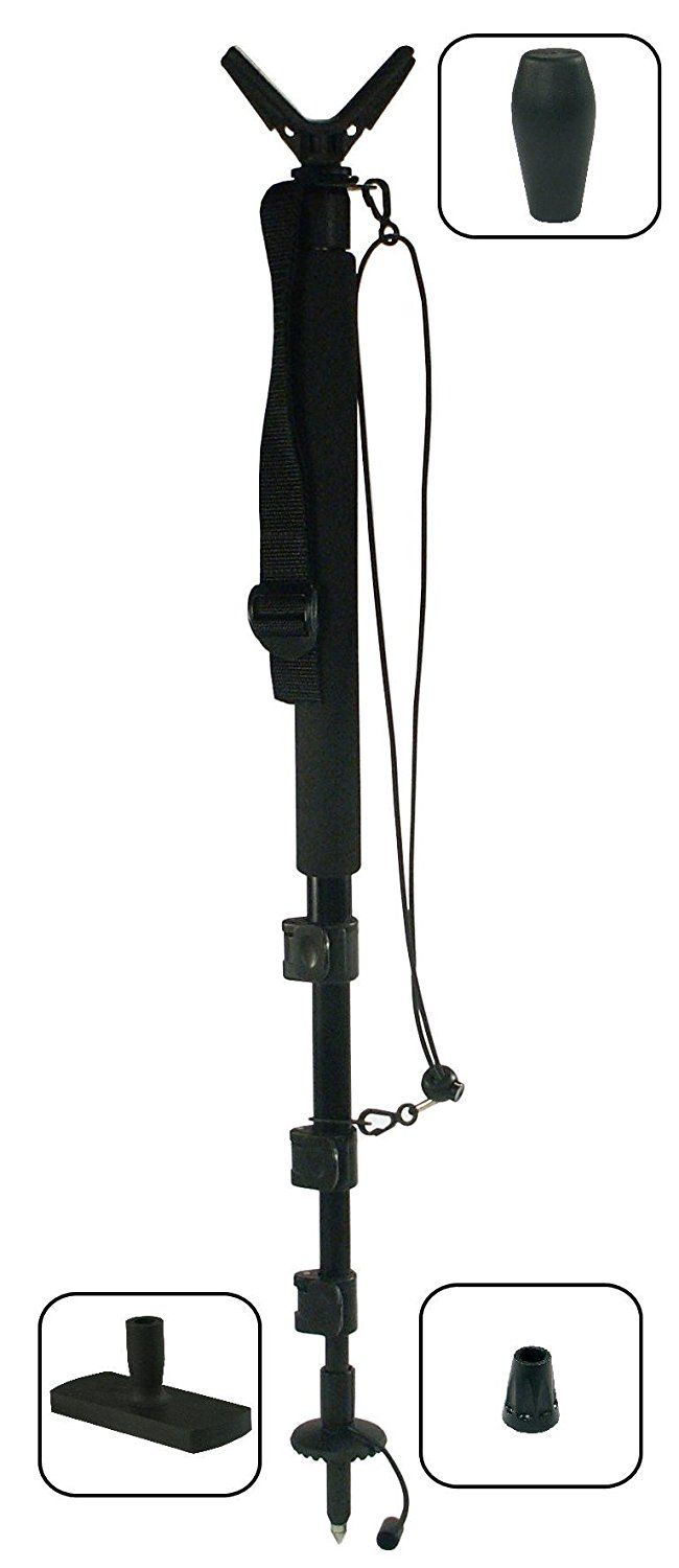 Levellok Monopod Shooting Rest (Complete with rubber base plate, and hiking handle) *** Check out this great item shown here  : Camping stuff