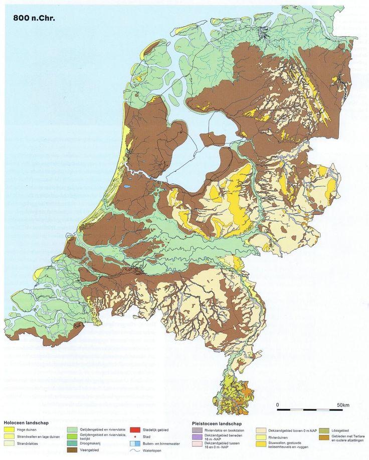 nederland 800 nChr