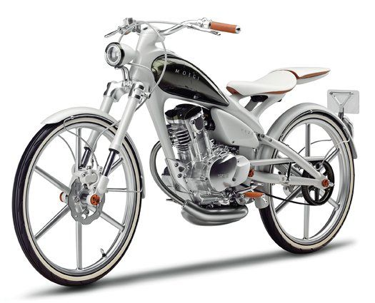 The New Yamaha Moegi Since the days of $4 gas began, the single-cylinder motorcycles and scooters that dominate international megacities have become increasingly common on American streets. Engineers at Yamaha created the Y125 Moegi concept to capitalize on that trend.