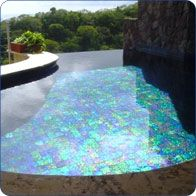 Glass Pool Tile ~ Like abalone!