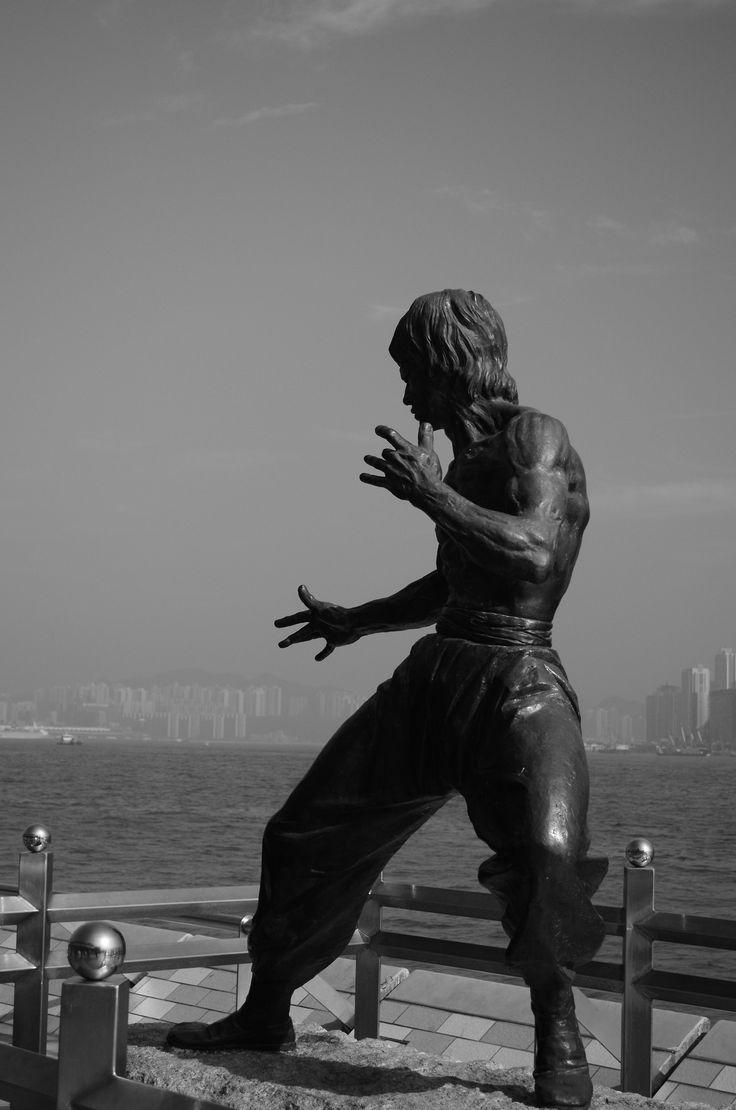 Bruce Lee - Hong Kong Statue