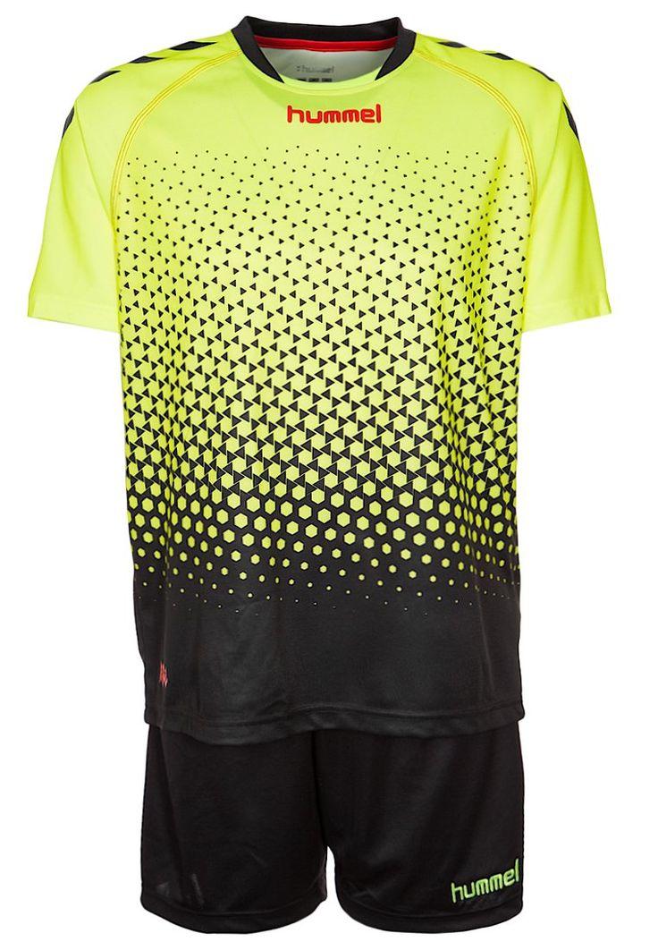 Hummel REBEL TRAINING SET - Teamwear - safety yellow/black - Zalando.de #HU342D009-E11 #Hummel #null #gelb #neon #gelb #yellow #schwarz #black #fußball #handball #laufen #fitness - Handball spielen - Handball spielen