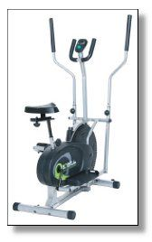 The good thing about elliptical trainers is that they are fit for all ages and will allow you to instantly adjust fitness levels and difficulty by altering the intensity and incline settings. The Body Rider BRD2000 elliptical trainer is a patented cardio trainer which can be used as an elliptical trainer or stationary bike.