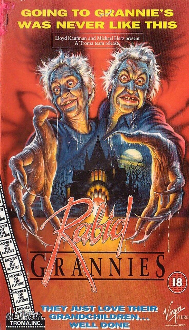 Rabid Grannies 1988 Horror Movie Posters Horror Movies Horror Movie Trailers