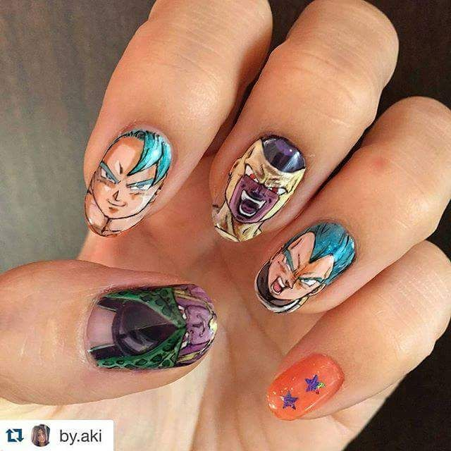 26 Impossible Japanese Nail Art Designs: 216 Best Anime Nail Art/ Japan Nail Art Images On