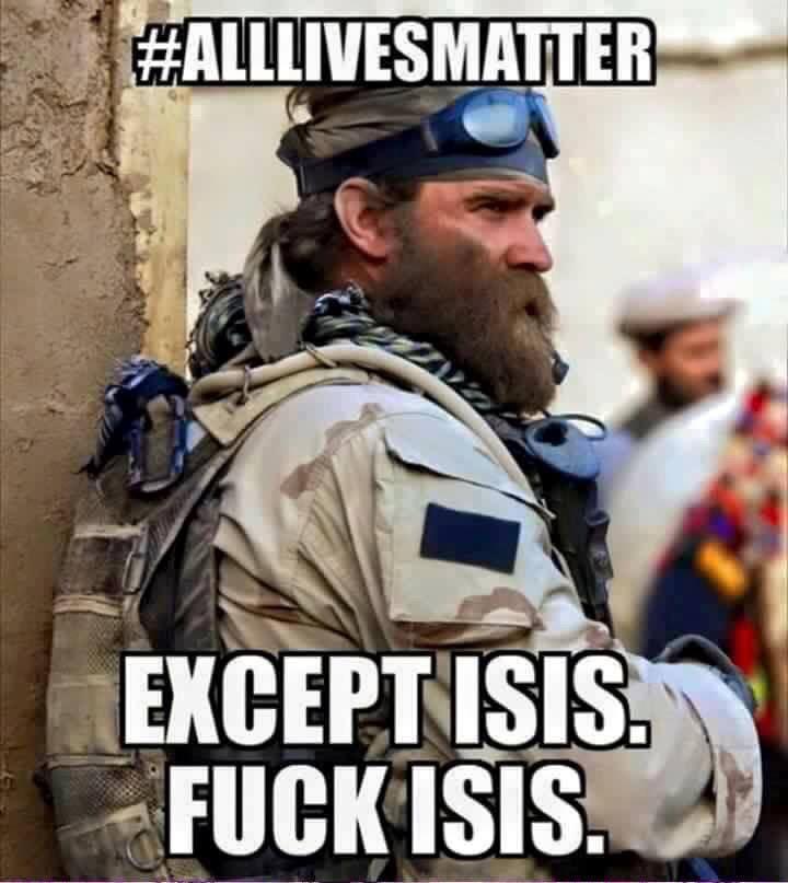 All lives matter...