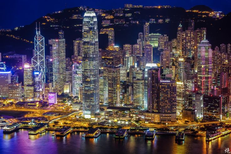 Hong Kong Central District by Mike Leung on 500px