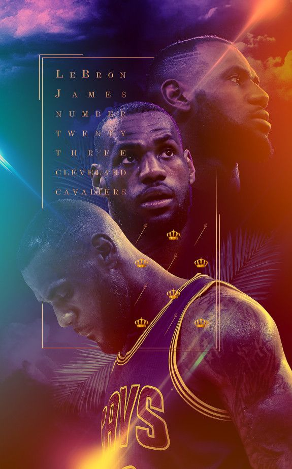 LeBron James 'King' Art