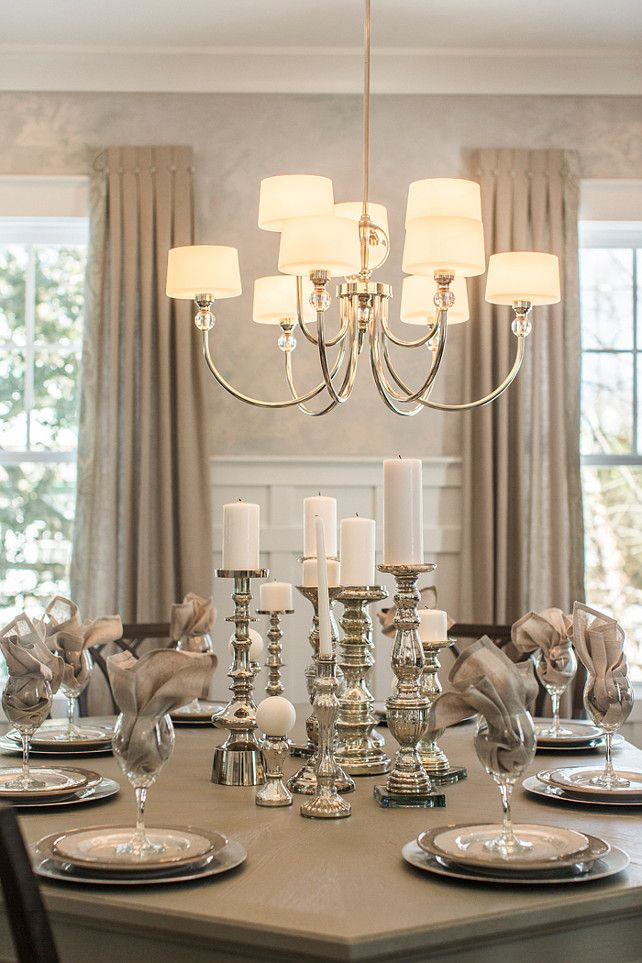 Elegant Dining Room Lighting New 2015 Coastal Virginia Magazine Idea House