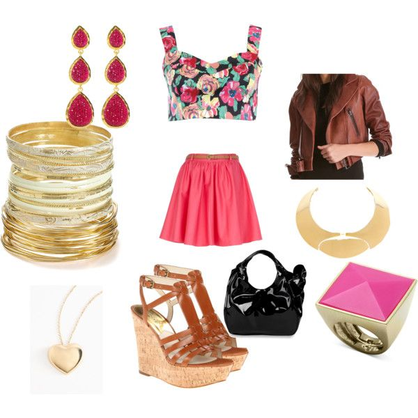 """""""How Do You Style Skater Skirts?"""" by angeldiamond on Polyvore"""