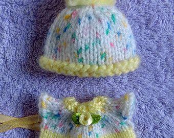 A mano a maglia vestiti bambole per 35-4 di UniqueDollsClothes