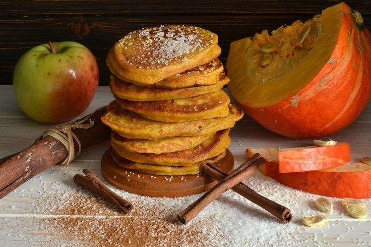 Оладьи с тыквой и яблоками. Пошаговый рецепт с фото - Ботаничка.ru