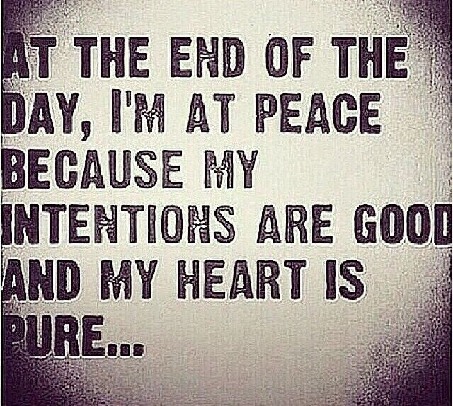 "Love Each Other When Two Souls: ""At The End Of The Day, I'm At Peace Because My Intentions"