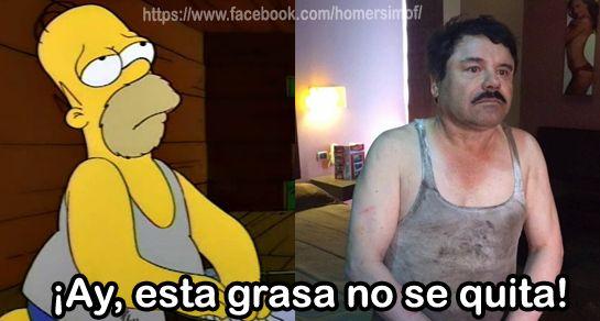 Re-recaptura del Chapo Guzmán - meme