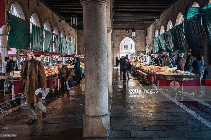 Morning at Rialto fish Market in Venice #italianfood #venice ph @SimonPadovani for @awakeninginfo at @GettyImages