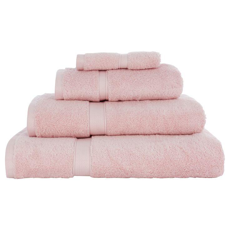 1000 ideas about pink towels on pinterest spa towels. Black Bedroom Furniture Sets. Home Design Ideas