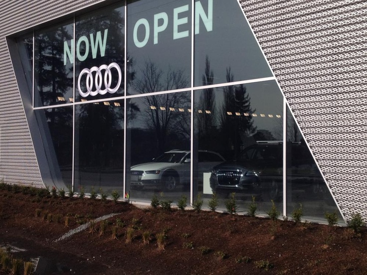 Like this Audi Dealership in Langley BC, trust AGNORA for customized high-end glass solutions!