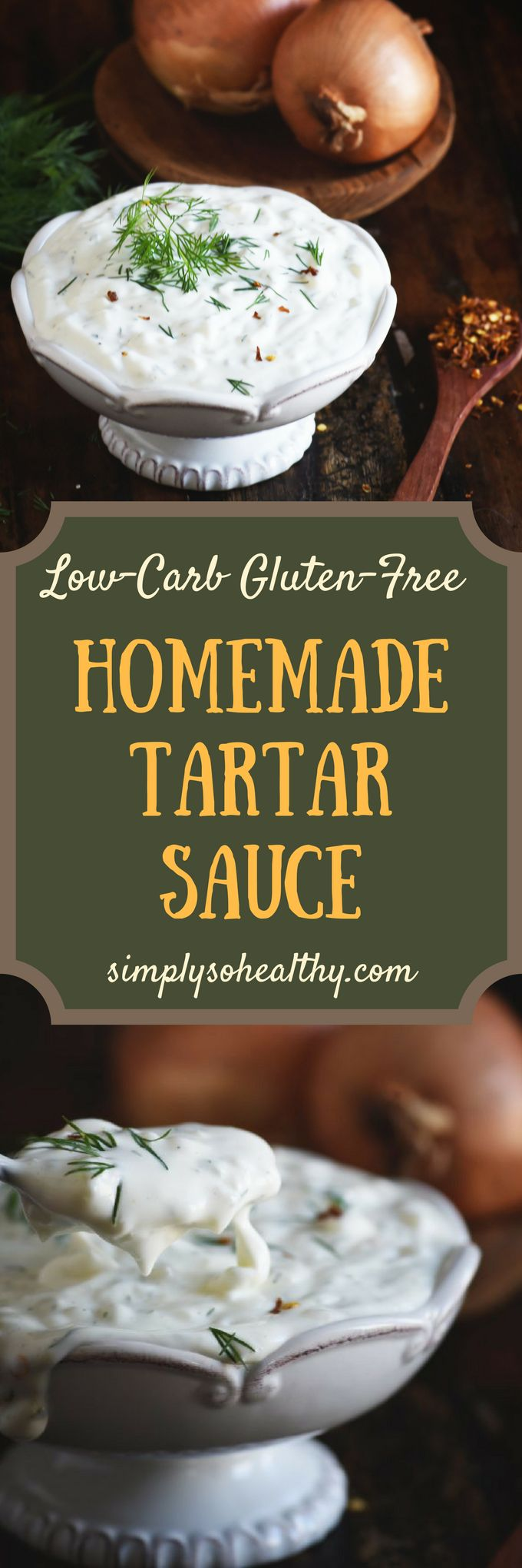 After you make this Homemade Tartar Sauce Recipe, you'll never eat store-bought tartar sauce again! This super easy recipe can be part of a low-carb, keto, gluten-free, dairy-free, grain-free, diabetic, or Whole-30 diet.