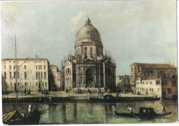 Chiesa della Salute by Venetian painter Francesco Guardi, Venice