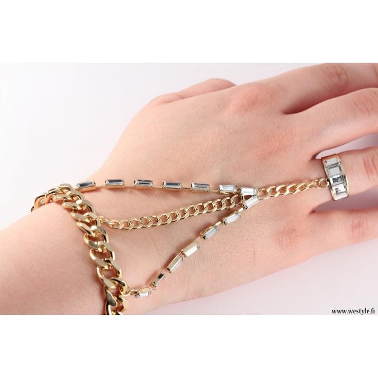 Hand jewellery - got to love it!