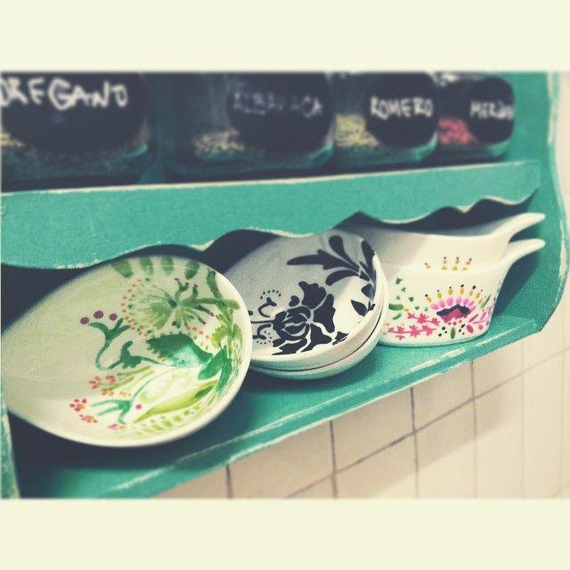 handpainted bowls
