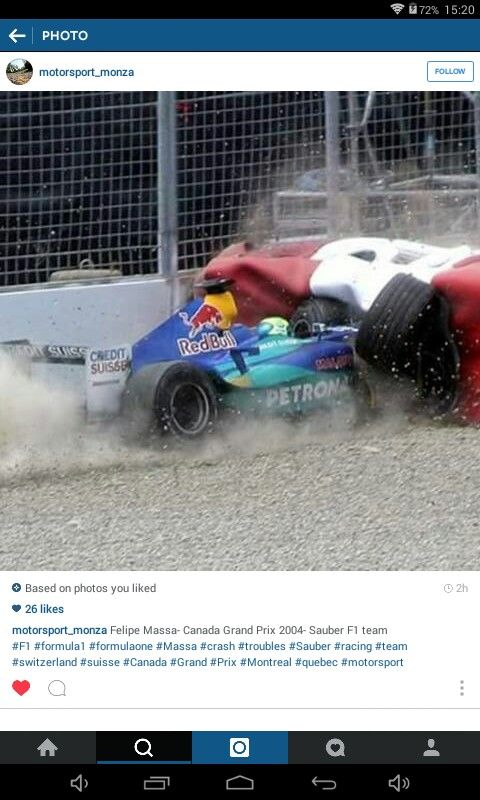 formula 1 crash head injury