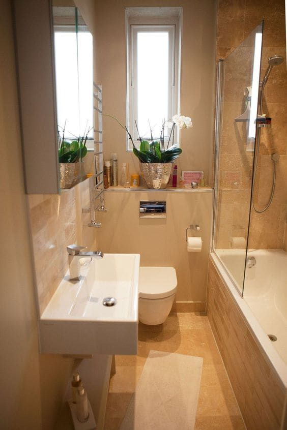 Best 50 Small Bathroom For Small Space Designs Colors