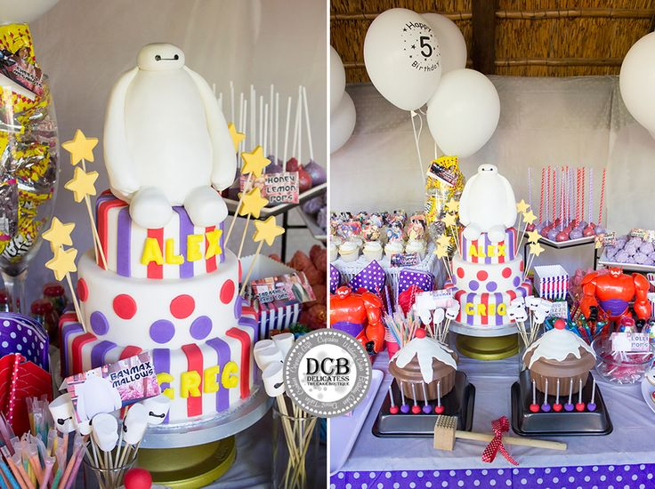 Big Hero 6 Birthday Bash10