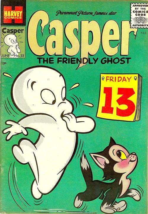 Casper the Friendly Ghost comic book (1955)