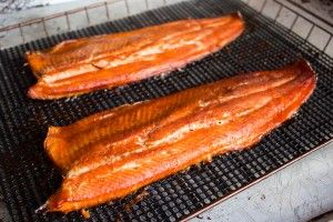 Smoked Rainbow Trout with Brown Sugar Rub