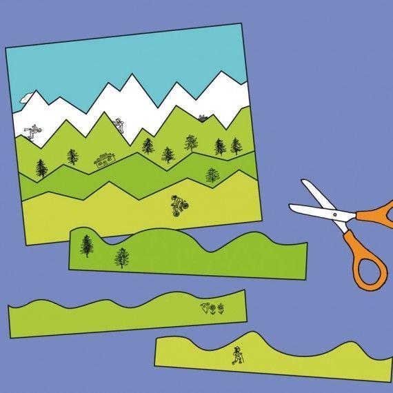 erstes schneiden mit streifenbildern pdf  ruhige buch