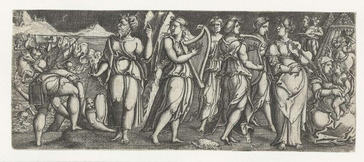 Triomf van Mirjam, Monogrammist AC (16e eeuw), 1520 - 1562