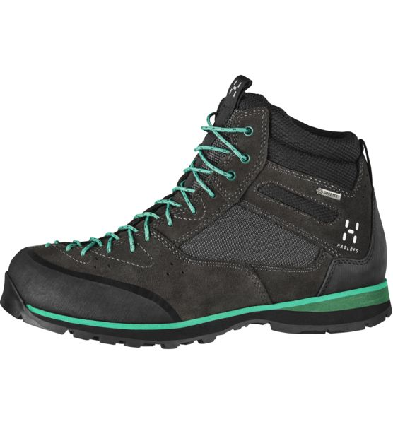 With great stability and comfort, our Roc Icon Mid GT approach footwear are waterproof and highly protective, with superb grip that makes it the ideal choice for rough, wet conditions.