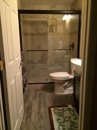 38 Best Images About Small Bathroom On Pinterest Shower
