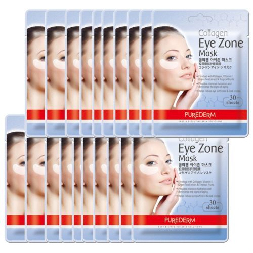 Korea Beauty Purederm Collagen Eye Zone Mask Sheet Masque Wrinkle Care 20 bags