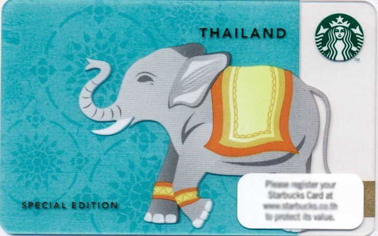 TARJETA STARBUCKS THAILANDIA PIN INTACTO