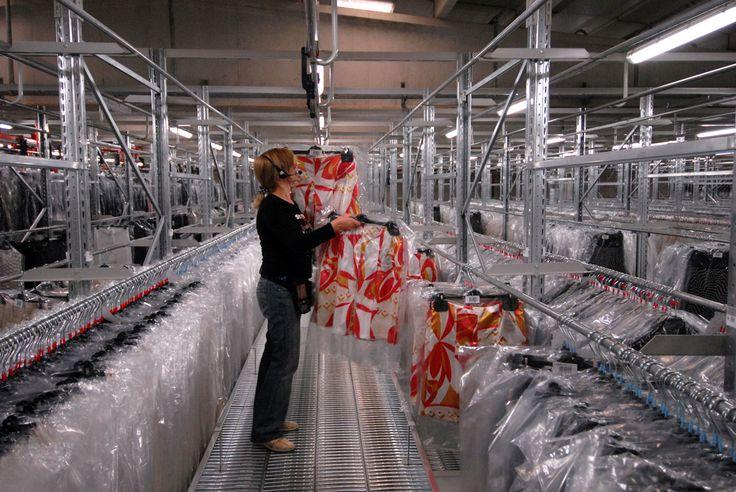 Abbigliamento - gestione magazzino #warehouse
