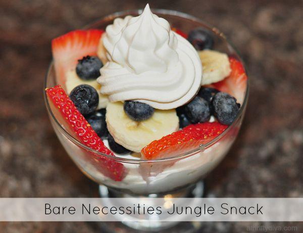 Jungle Snack Recipe Inspired by The Jungle Book  #BareNecessities #LoMasVital