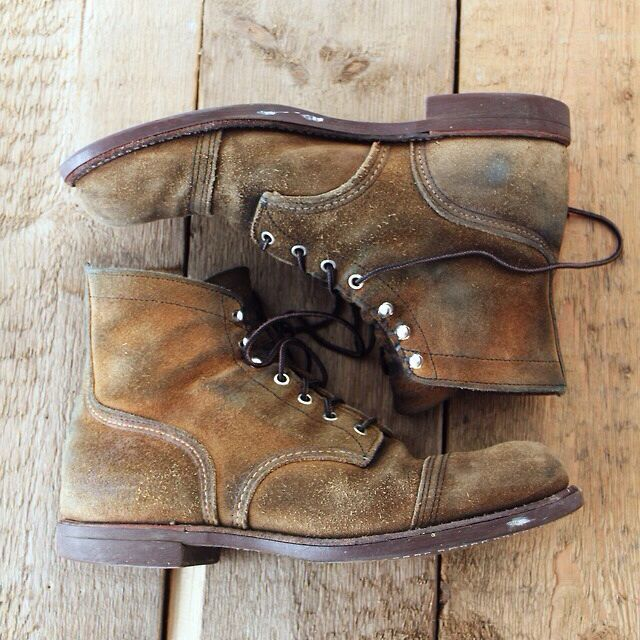 Red Wing Iron Rangers muleskinners.