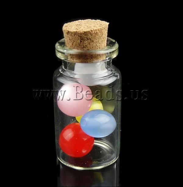 Boîte à bijoux de perles , verre