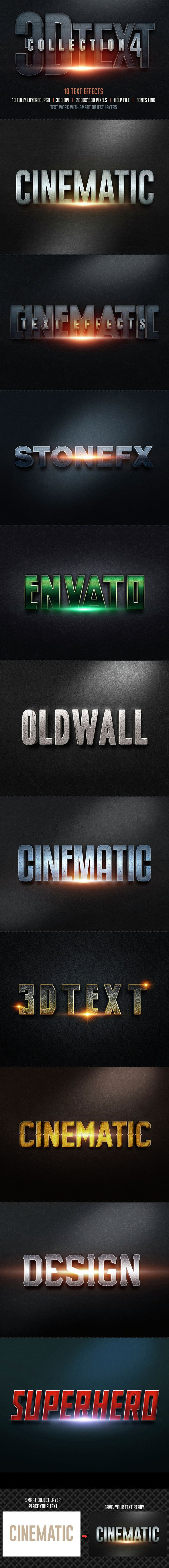 3D Text Effects for Photoshop. Download here: http://graphicriver.net/item/3d-text-effects-col4/14721534?ref=ksioks