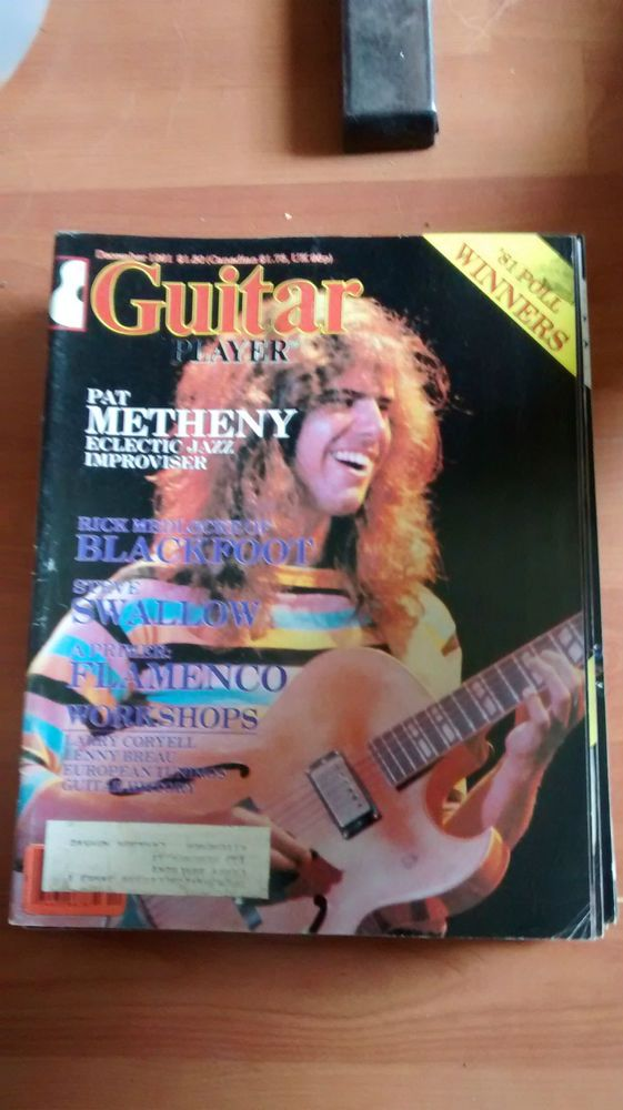 Guitar Player Mag good condition December 1981