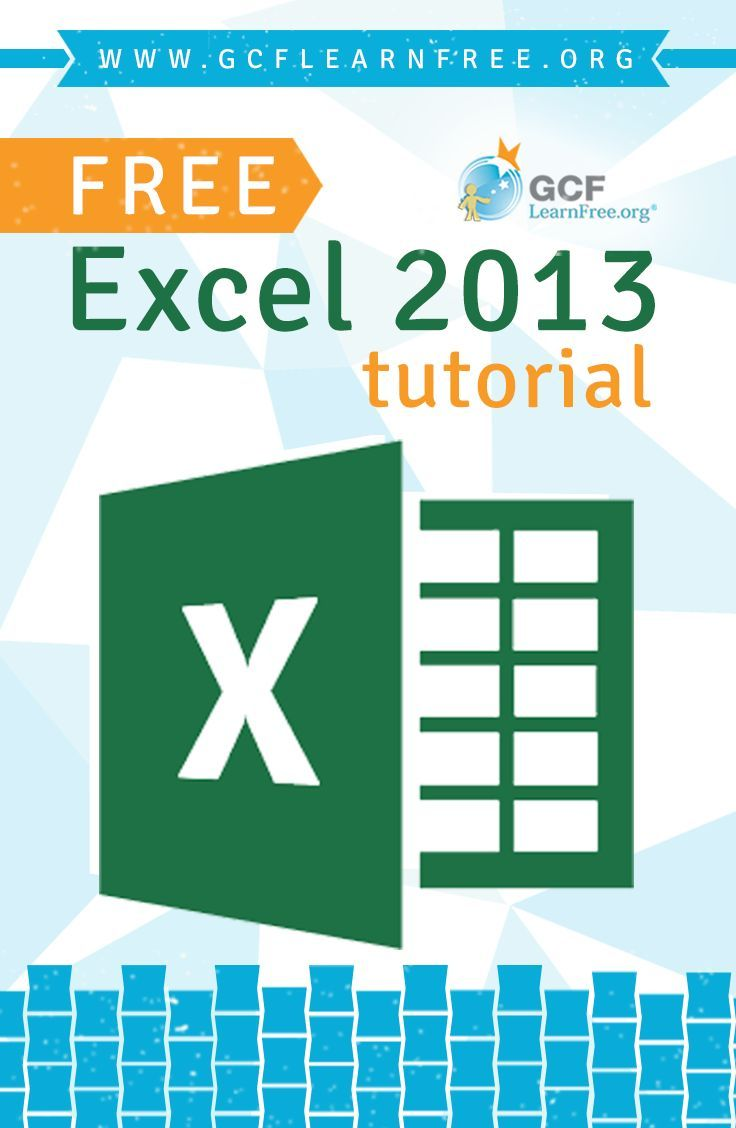 Excel 2013 is the spreadsheet application in Microsoft's new Office 2013. This free tutorial from @GCFLearnFree.org will show you how to use the powerful tools in Excel 2013 for organizing, visualizing, and calculating your data. #Excel #technology
