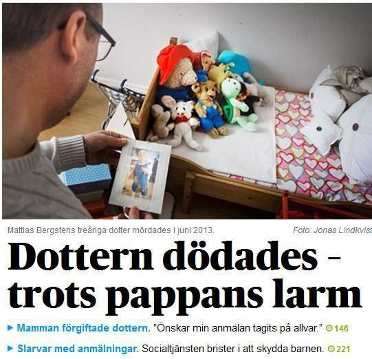 Socialtjänsten i Sverige brister i att skydda barnen | Ann-Mari's Blogg