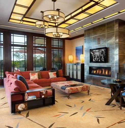 Modern Living Room San Francisco Best Interior Design 12: 119 Best Contemporary Craftsman Homes Images On Pinterest
