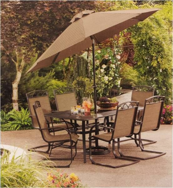 Kroger outdoor furniture sale harrington 7 piece dining for Outdoor furniture 7 piece